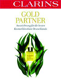 Clarins Gold-Partner